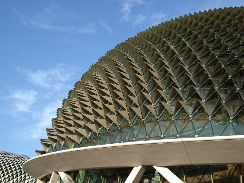 must see in Singapore. The Esplanade – Theatres on the Bay