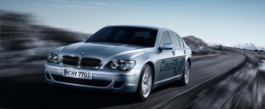bmw hydrogen car