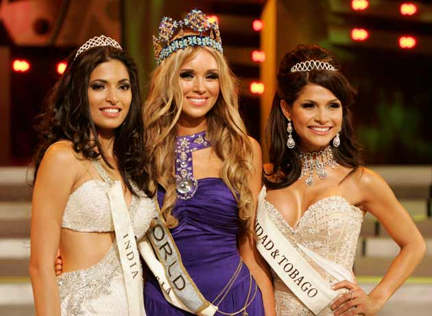 Miss World 2008 is Russian