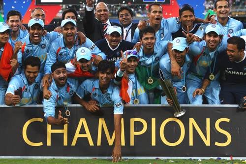 india champions