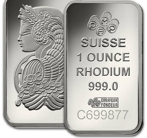 Worlds Most Expensive Precious Metal Rhodium