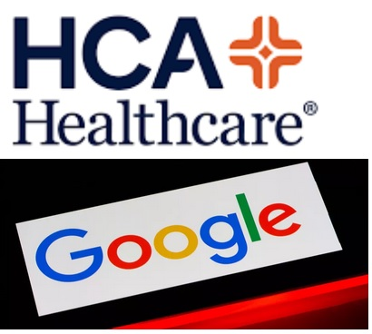 HCA healthcare google
